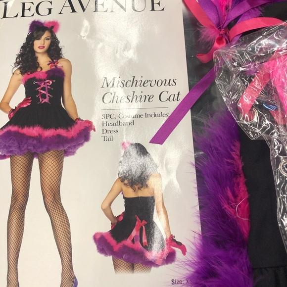 Leg Avenue Chestire Cat Costume